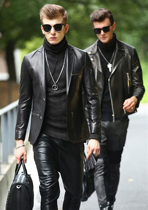 25+ best ideas about Mens leather pants on Pinterest | Leather jeans Mens leather trousers and ...
