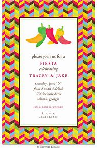 mexican fiesta party invitation border