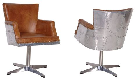 Restoration Hardware Aviator Desk Chair by 13 Designs That Bring Reclaimed Aeroplane Parts Into Your