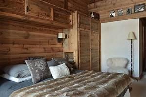 Rideaux Style Chalet : d co chambre style chalet ~ Teatrodelosmanantiales.com Idées de Décoration