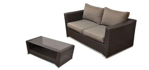 canape de jardin 2 places canap 233 2 places table basse malaga marron d 233 couvrez nos canap 233 s 2 places tables basses