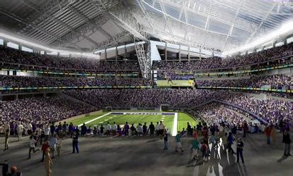 ultimate fan zone us bank stadium minnesota vikings