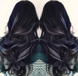 hair clip rambut 25 best ideas about black hair with highlights on