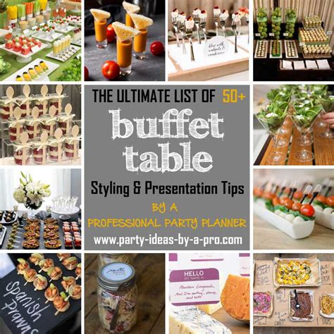 Buffet Table Ideas—Decorating & Styling Tips by a Pro