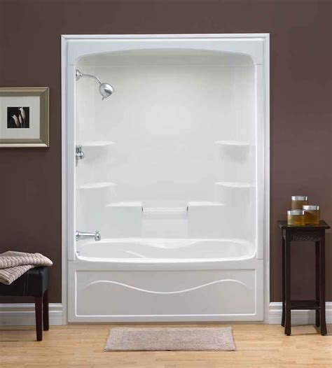 shower tub units one shower insert liberty 60 inch 1 acrylic