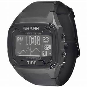 Shark By Freestyle Classic Xl Tide Watch  Black 10006702