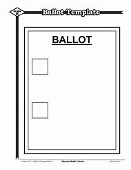 best ballot template ideas and images on bing find what you ll love