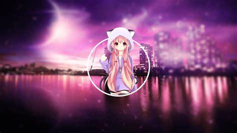 pink hair cat girl anime girls anime city wallpapers