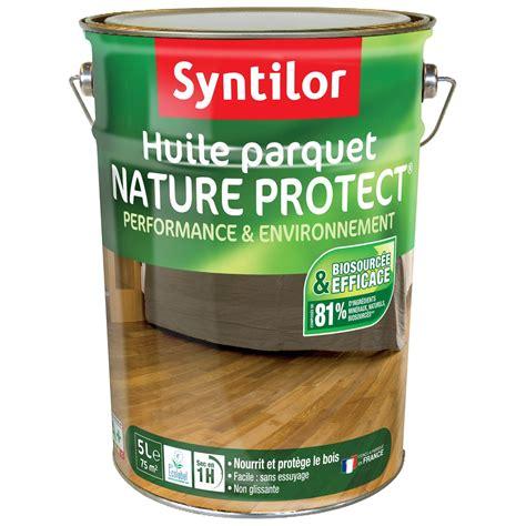 huile pour parquet huile parquet syntilor incolore 5 l leroy merlin