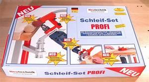 A61 Schleif Set PROFI für die Bohrmaschine Neutechnik