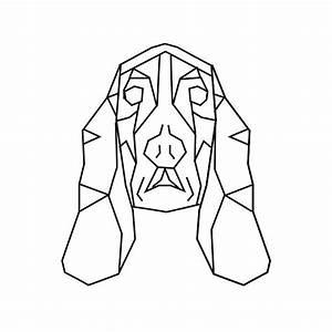 geometric geometrique dog chien   cute drawing   Pinterest ...