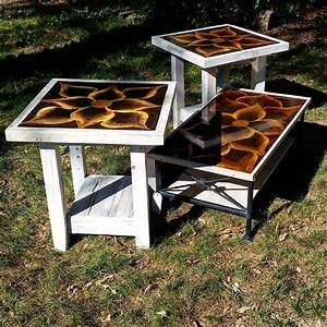 pallets made end and coffee tables pallet ideas With pallet coffee table and end tables