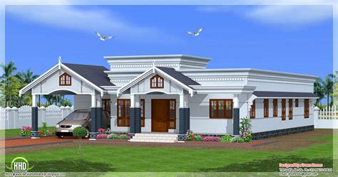 one floor house 4 bedroom single floor kerala house plan kerala home design and floor plans
