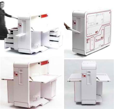 portable office desk fold out room 12 ultra compact living pods systems