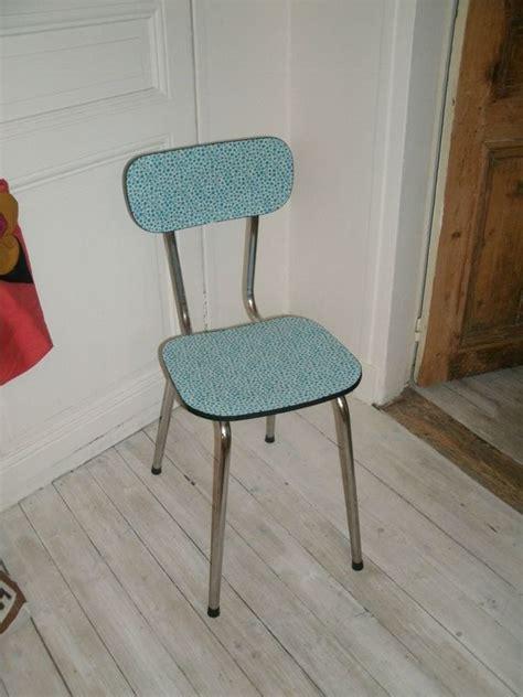chaise en formica une chaise relookée en tissu des filles à l 39 aiguille