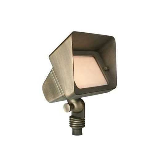brass large flood in antique bronze 12v t3 50w max bulb