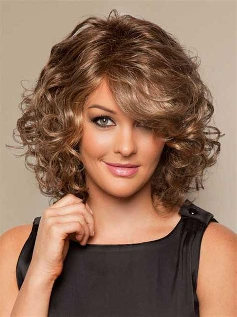 15 inspirations of medium length curly bob hairstyles