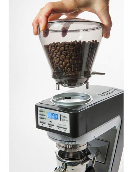 W stands for weight, i stands for intelligence. Buy Baratza Sette 270W Coffee Grinder in Saudi