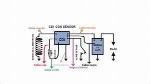 Conexiones De Cdi De Yamaha Crypton  7 Cables