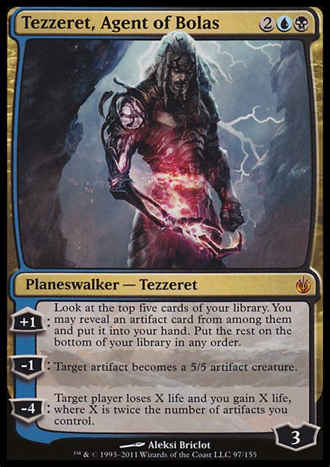 Thopter Deck Magic Duels by Proxies For Deck Quot Tezzeret Thopter Quot Deckstats Net