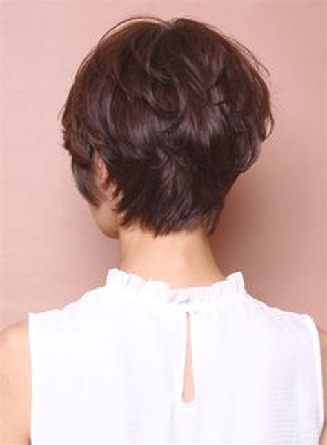 Back View Of Pixie Hairstyles by Cool Back View Undercut Pixie Haircut Hairstyle Ideas 1