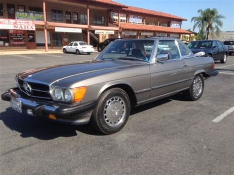 Sell Used 1987 Mercedes Benz 560sl Excellent Condition