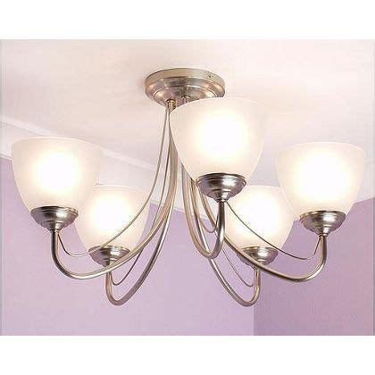 rome 5 light fitting satin nickel homebase lights ceiling lights lighting light fittings