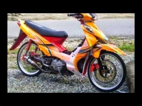 Modivikasi Airbrush Shogun Sp by Motor Trend Modifikasi Modifikasi Motor Suzuki