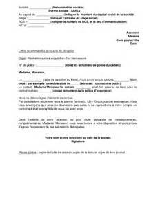 Résiliation Contrat Assurance Vie by Modele Lettre Resiliation Assurance Vie