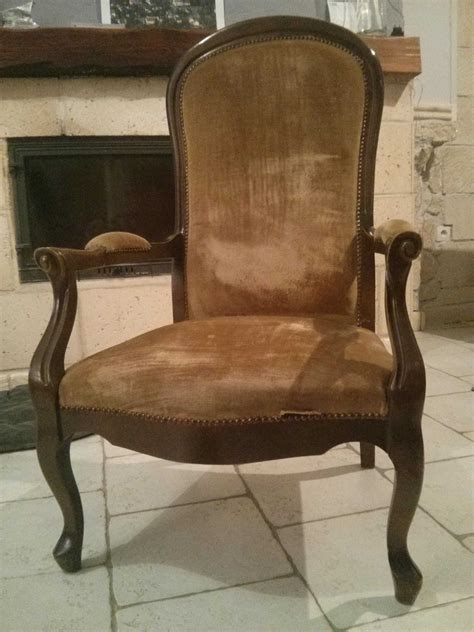 r 233 novation d un vieux fauteuil voltaire