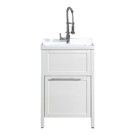all in one utility sink schon eleni all in one kit 24 in x 22 in x 37 8 in