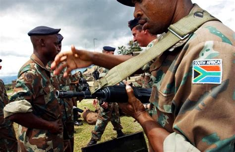Sa To Send Troops To Drc