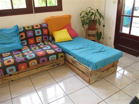 matelas pour canapé palette photos canapé palette matelas