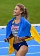 Ukraine best high jumper, Yuliya Levchenko. - 9GAG