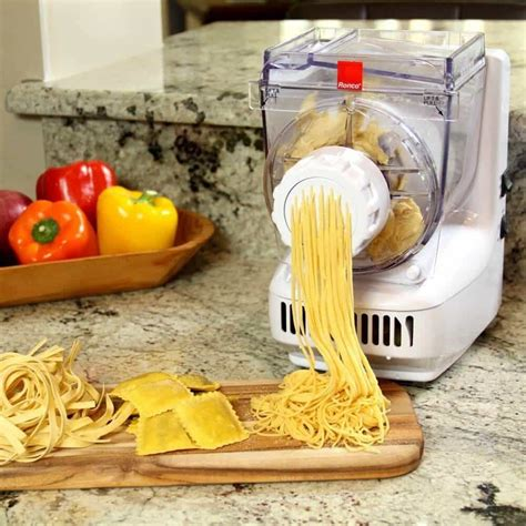 ronco pasta sausage maker giveaway steamy kitchen recipes
