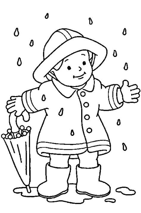 Kleurplaat Puk Herfst by Regen Kleurplaat Zoeken Thema Het Weer De