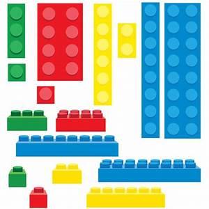 Lego Inspired Building Blocks Clip Art - PNG | Lego, Clip ...