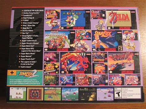 The Super Nes Classic Edition Photo Gallery Games