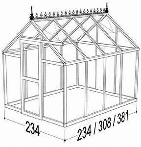 Janssens Junior Victorian Greenhouse  8x13