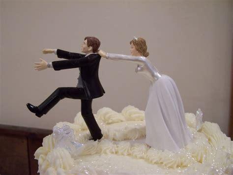 funny wedding cake topper remarkable   running