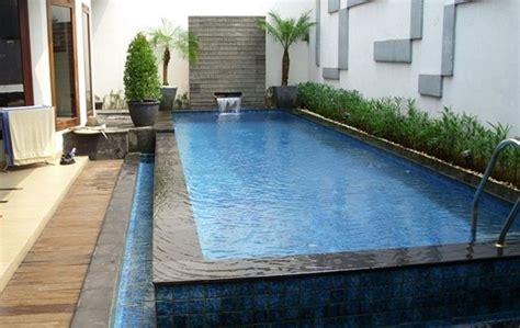 biaya membuat kolam renang minimalis berbagai ukuran