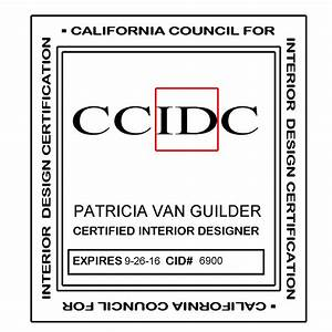 Interior decorator license california iron blog for Certification for interior decorator