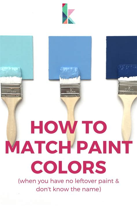 how to match paint colors kaleidoscope living