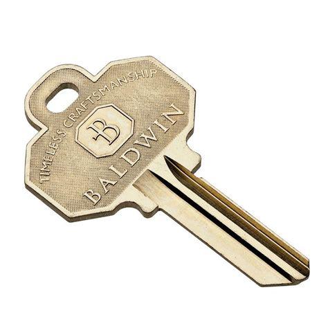 Baldwin Blank House Key8335152  The Home Depot