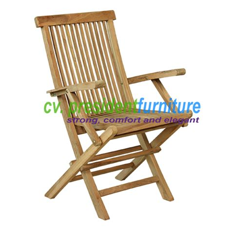 folding arm chair by president furniture