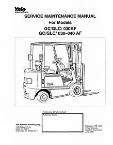 Yale Forklift Wiring Diagram