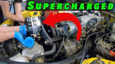 Supercharging Engineering Explained's Honda S2000