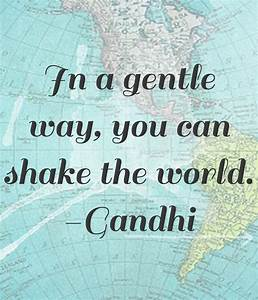 World Peace Quotes By Gandhi. QuotesGram
