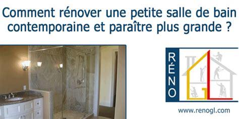 comment faire un bain de si鑒e salle de bain contemporaine comment rénover une salle de bain