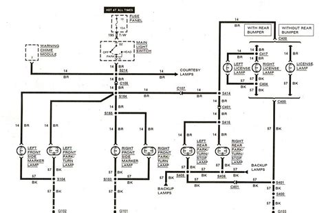 1988 Mini Wiring Diagram by Free Auto Wiring Diagram 1983 1989 Ford Ranger Exterior